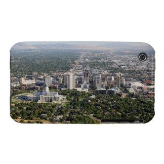 Aerial view of downtown Salt Lake City, Utah iPhone 3 Cases