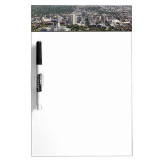 Aerial view of downtown Salt Lake City, Utah Dry Erase Board