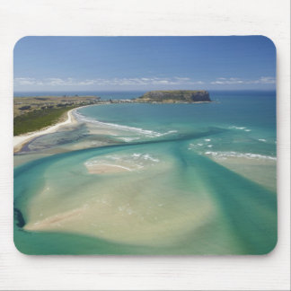 Aerial view of estuary, Sawyer Bay, Stanley and Mouse Pad