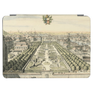 Aerial View of Formal Garden by Eric Dahlbergh iPad Air Cover