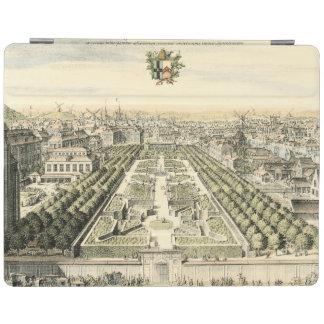 Aerial View of Formal Garden by Eric Dahlbergh iPad Cover