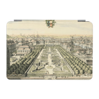 Aerial View of Formal Garden by Eric Dahlbergh iPad Mini Cover