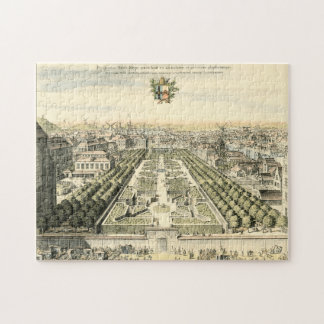 Aerial View of Formal Garden by Eric Dahlbergh Jigsaw Puzzle