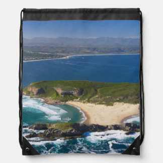 Aerial View Of Garden Route, Western Cape 2 Drawstring Bag