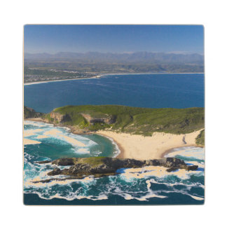 Aerial View Of Garden Route, Western Cape 2 Wood Coaster