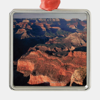 Aerial view of Grand Canyon National Park , Silver-Colored Square Decoration