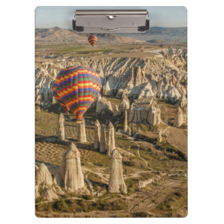 Aerial View Of Hot Air Balloons, Cappadocia 2 Clipboard