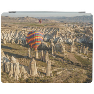Aerial View Of Hot Air Balloons, Cappadocia 2 iPad Cover