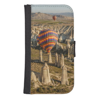 Aerial View Of Hot Air Balloons, Cappadocia 2 Samsung S4 Wallet Case