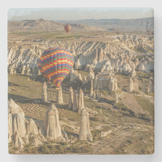 Aerial View Of Hot Air Balloons, Cappadocia 2 Stone Beverage Coaster