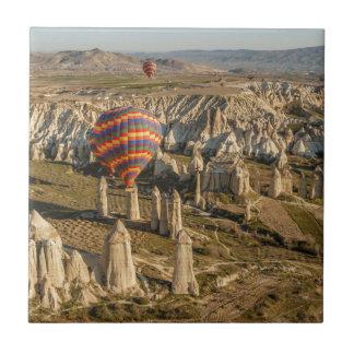 Aerial View Of Hot Air Balloons, Cappadocia 2 Tile