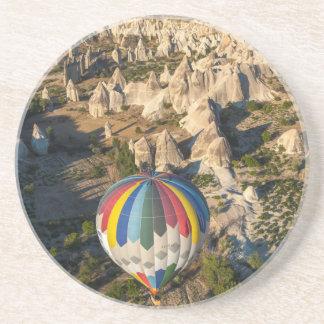 Aerial View Of Hot Air Balloons, Cappadocia Coaster