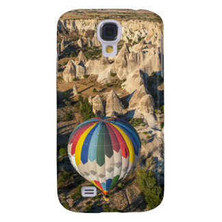 Aerial View Of Hot Air Balloons, Cappadocia Galaxy S4 Case