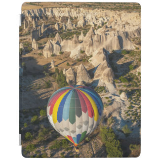 Aerial View Of Hot Air Balloons, Cappadocia iPad Cover