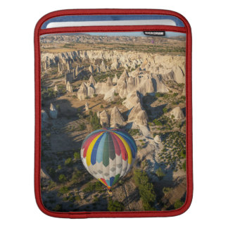 Aerial View Of Hot Air Balloons, Cappadocia iPad Sleeve