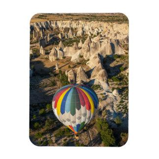 Aerial View Of Hot Air Balloons, Cappadocia Magnet