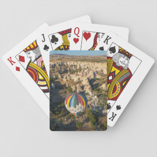 Aerial View Of Hot Air Balloons, Cappadocia Poker Deck