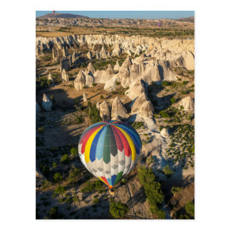 Aerial View Of Hot Air Balloons, Cappadocia Postcard
