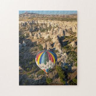 Aerial View Of Hot Air Balloons, Cappadocia Puzzle