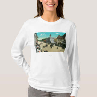 Aerial View of I StreetModesto, CA T-Shirt