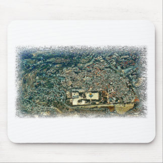 Aerial View of Jerusalem Mousepads
