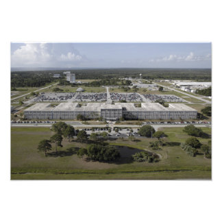 Aerial view of Kennedy Space Center Photo Print