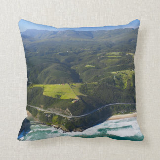 Aerial View Of Keurbooms River, Garden Route Cushion