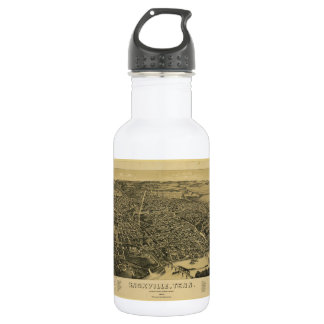 Aerial View Of Knoxville Tennessee from 1886 532 Ml Water Bottle