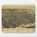 Aerial View Of Knoxville Tennessee from 1886 Mouse Pads