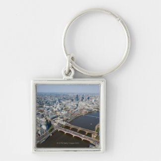 Aerial View of London Key Ring