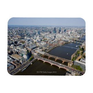 Aerial View of London Magnet