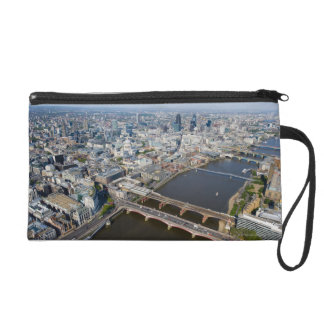 Aerial View of London Wristlet