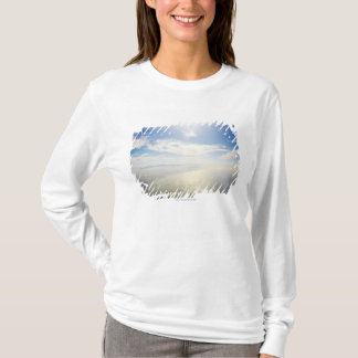 Aerial view of Long Beach, California T-Shirt