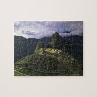 Aerial view of Machu Picchu, Peru Jigsaw Puzzle