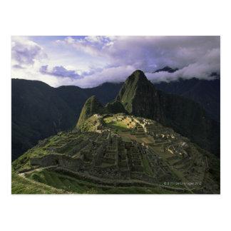 Aerial view of Machu Picchu, Peru Postcard