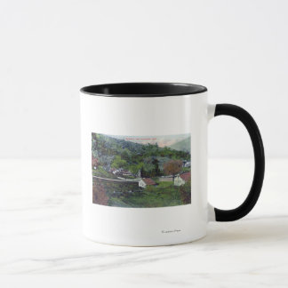 Aerial View of McCray'sCloverdale, CA Mug