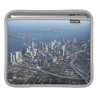 Aerial view of Miami iPad Sleeve