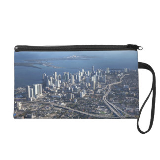 Aerial view of Miami Wristlet