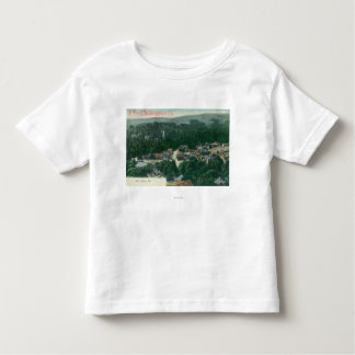 Aerial View of Mill ValleyMill Valley, CA Toddler T-Shirt
