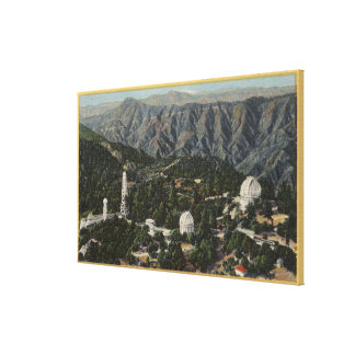 Aerial View of Observatory Canvas Print