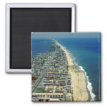 Aerial View of Ocean City Maryland Square Magnet