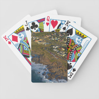 Aerial View Of Orange Rock, South Coast Bicycle Playing Cards