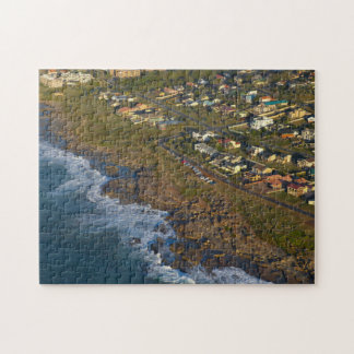 Aerial View Of Orange Rock, South Coast Jigsaw Puzzle