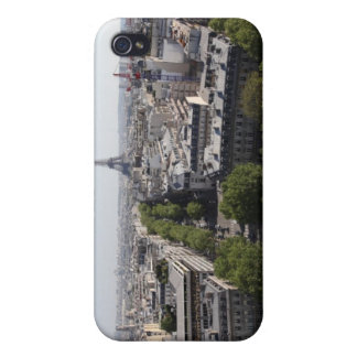 aerial view of PARIS 2 Case For iPhone 4