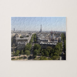 aerial view of PARIS 2 Jigsaw Puzzle