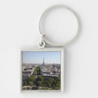 aerial view of PARIS 2 Key Ring