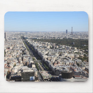 aerial view of PARIS 3 Mouse Mat