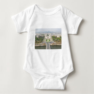 Aerial view of Paris Baby Bodysuit