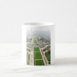 Aerial view of Paris Coffee Mug