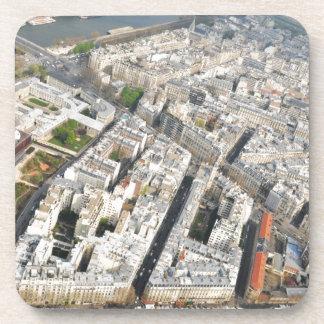Aerial view of Paris, France Coaster